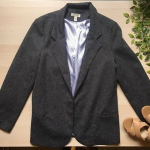 Urban outfitters silence + noise tweed blazer